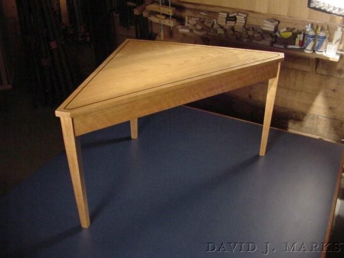 Episode 310 Inlaid Corner Table.