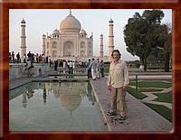 cat_001 David on the walkway to the Taj Mahal-tn