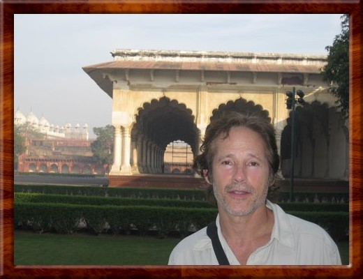 035 David at Fort Agra, Agra, India