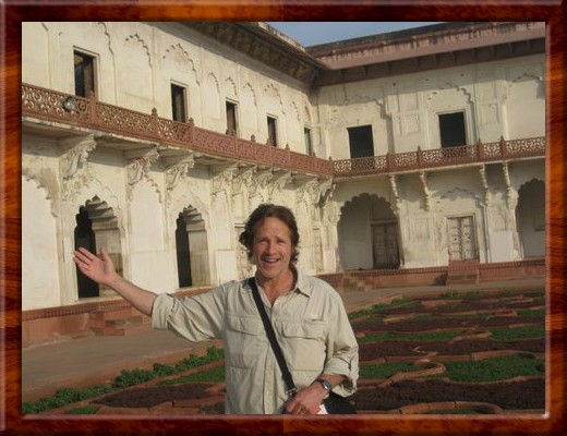 037 David at Fort Agra, Agra, India