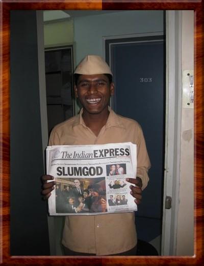 045 Santosh very happy with the success of Slumdog or Slumgod Millionaire