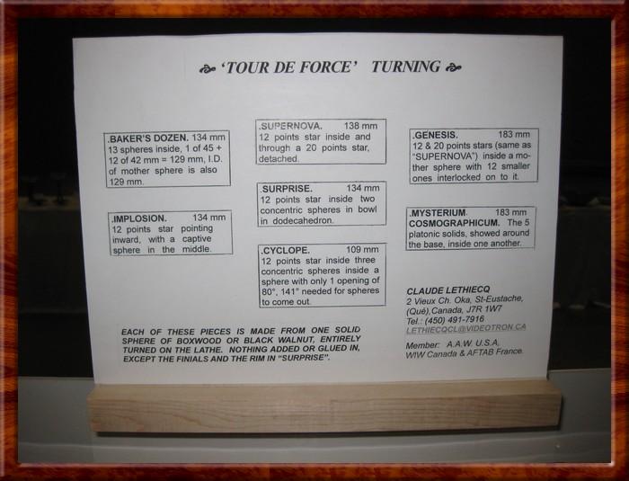 Description by Claude Lethiecq