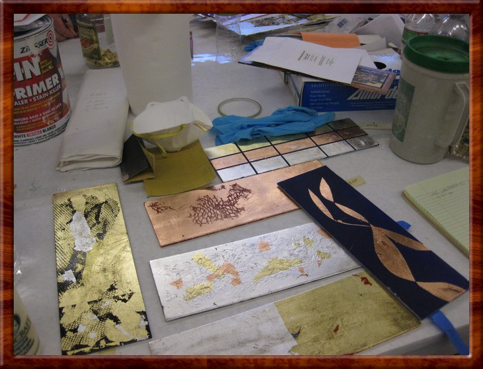 Gilding and Patination 39