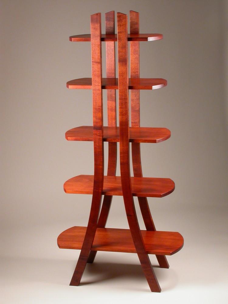 WoodWorks Episode 401 Bent Laminate Shelf Stand.