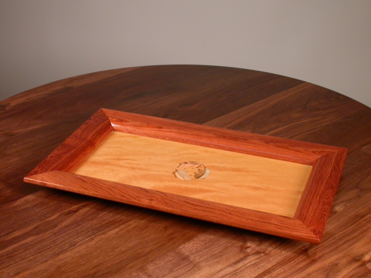 508 Marquetry Serving Tray