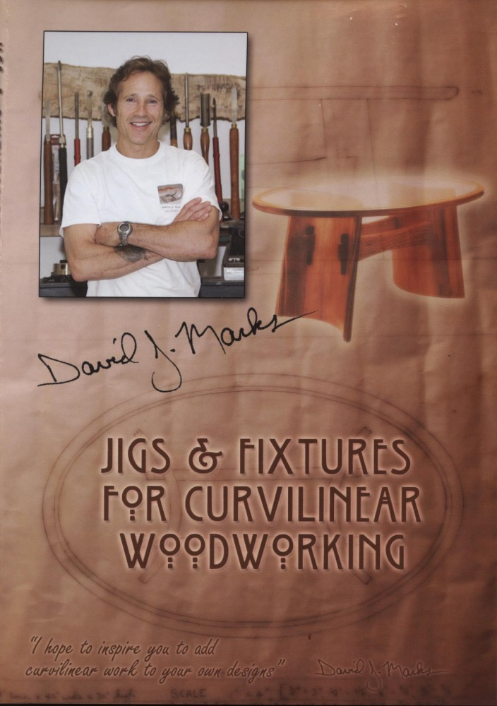 Jigs & Fixtures for Curvilinear Woodworking DVD